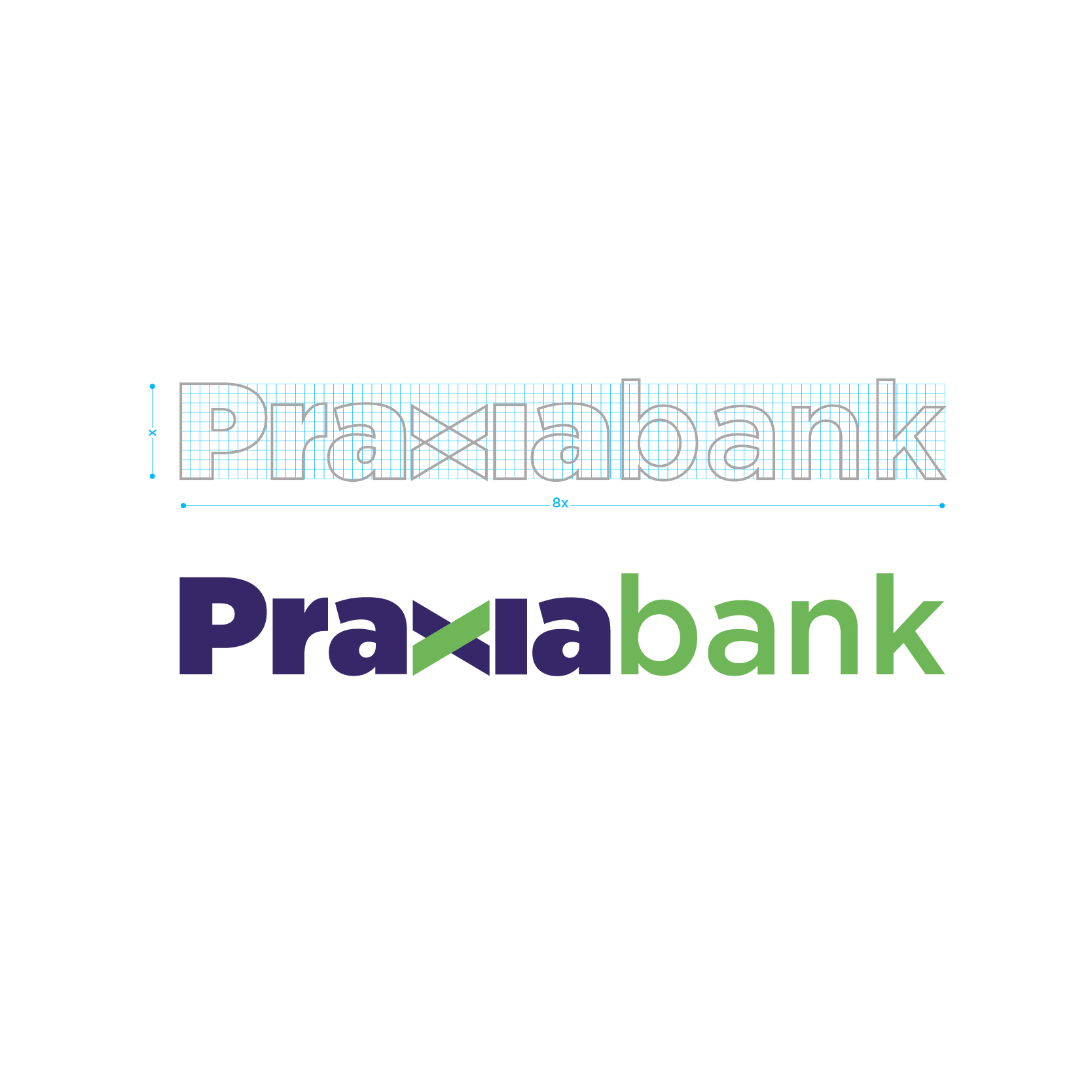 Praxia Bank, the new corporate image designed by V12 design (5)