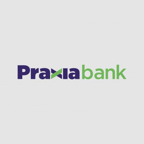 praxiabank logo by v12design